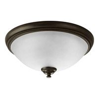 Pavilion 2 Light 15 inch Antique Bronze Close-to-Ceiling Ceiling Light
