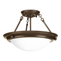 Progress Lighting Eclipse 2 Light Close-to-Ceiling in Antique Bronze P3483-20