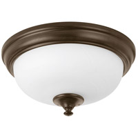 LED Alabaster LED 11 inch Antique Bronze Flush Mount Ceiling Light