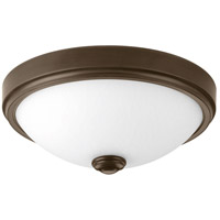 LED Linen LED 11 inch Antique Bronze Flush Mount Ceiling Light