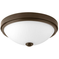 Progress P350006-020-30 Led Linen LED 13 inch Antique Bronze Flush Mount Ceiling Light