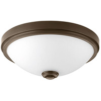 LED Linen LED 15 inch Antique Bronze Flush Mount Ceiling Light