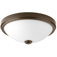 LED Linen LED 19 inch Antique Bronze Flush Mount Ceiling Light