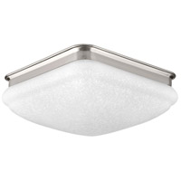 Progress P350018-009-30 Led Square LED 11 inch Brushed Nickel Flush Mount Ceiling Light