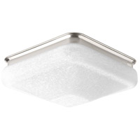 LED Square LED 10 inch Brushed Nickel Flush Mount Ceiling Light