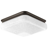 Progress P350023-020-30 Led Square LED 10 inch Antique Bronze Flush Mount Ceiling Light