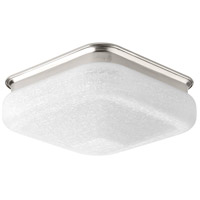 LED Square LED 12 inch Brushed Nickel Flush Mount Ceiling Light