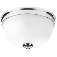 Topsail 2 Light 11 inch Polished Chrome Flush Mount Ceiling Light