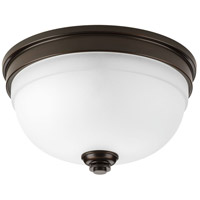 Topsail 2 Light 11 inch Antique Bronze Flush Mount Ceiling Light