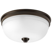 Progress P350048-020 Topsail 3 Light 14 inch Antique Bronze Flush Mount Ceiling Light