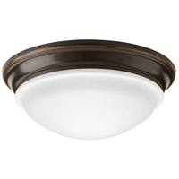 Progress P350052-020-30 Led Signature LED 13 inch Antique Bronze Flush Mount Ceiling Light
