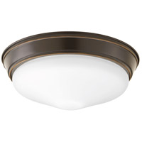 Progress P350054-020-30 Led Signature LED 13 inch Antique Bronze Flush Mount Ceiling Light