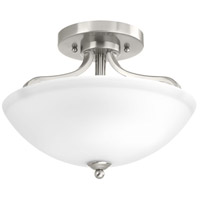 Laird 2 Light 13 inch Brushed Nickel Semi-Flush Convertible Ceiling Light