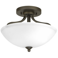 Laird 2 Light 13 inch Antique Bronze Semi-Flush Convertible Ceiling Light