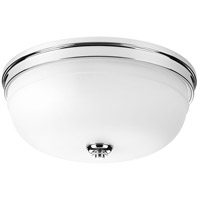 Topsail 3 Light 15 inch Polished Chrome Flush Mount Ceiling Light