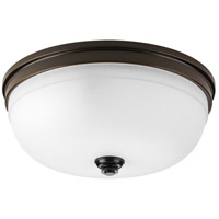 Topsail 3 Light 15 inch Antique Bronze Flush Mount Ceiling Light