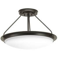 Apogee LED 21 inch Architectural Bronze Semi-Flush Convertible Ceiling Light
