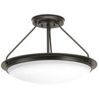 Progress P350065-129-30 Apogee LED 21 inch Architectural Bronze Semi-Flush Convertible Ceiling Light