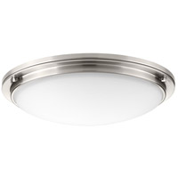 Apogee LED 21 inch Brushed Nickel Flush Mount Ceiling Light