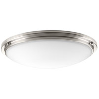 Apogee LED 27 inch Brushed Nickel Flush Mount Ceiling Light