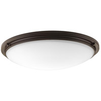 Apogee LED 27 inch Architectural Bronze Flush Mount Ceiling Light