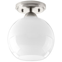 Carisa 1 Light 7 inch Brushed Nickel Flush Mount Ceiling Light