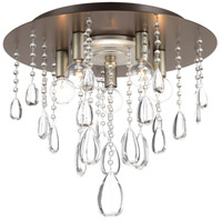 Anjoux 5 Light 16 inch Antique Bronze Flush Mount Ceiling Light