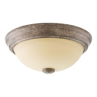 Spirit 1 Light 11 inch Pebbles Flush Mount Ceiling Light