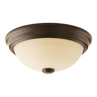Spirit 1 Light 11 inch Antique Bronze Flush Mount Ceiling Light