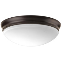 Progress P350101-020-30 Signature LED 14 inch Antique Bronze LED Flush Mount Ceiling Light