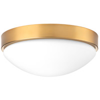Progress P350105-109-30 Elevate LED 13 inch Brushed Bronze Flush Mount Ceiling Light Design Series