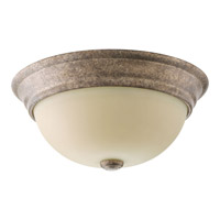Spirit 2 Light 13 inch Pebbles Flush Mount Ceiling Light