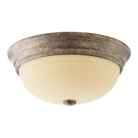 Progress Spirit 3 Light Flush Mount in Pebbles P3502-144