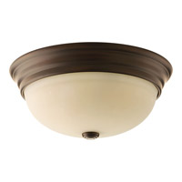 Progress Spirit 3 Light Flush Mount in Antique Bronze P3502-20
