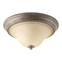 Progress P3506-144 Spirit 2 Light 15 inch Pebbles Flush Mount Ceiling Light