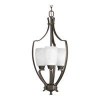 Wisten 3 Light 12 inch Antique Bronze Hall & Foyer Ceiling Light