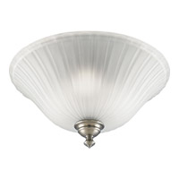 Renovations 3 Light 16 inch Antique Nickel Close-to-Ceiling Ceiling Light