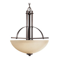 Progress P3519-88 Riverside 3 Light 19 inch Heirloom Hall & Foyer Ceiling Light
