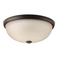 Progress Random 3 Light Flush Mount in Antique Bronze P3527-20WB