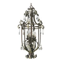 Progress Lighting Thomasville Savona 6 Light Hall & Foyer in Cognac P3545-72