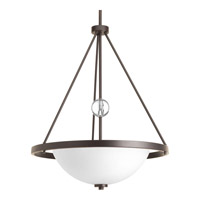 Progress Compass 3 Light Foyer Pendant in Antique Bronze P3552-20
