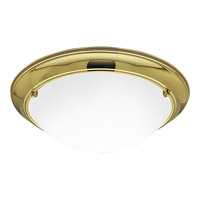 Progress Lighting Eclipse 3 Light Close-to-Ceiling in Polished Brass P3564-10EB