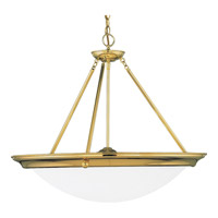 Progress Lighting Eclipse 4 Light Hall & Foyer in Polished Brass P3575-10