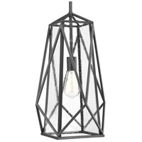 Marque 1 Light 12 inch Graphite Hall & Foyer Ceiling Light, Design Series