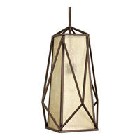 Marque 1 Light 12 inch Antique Bronze Foyer Pendant Ceiling Light