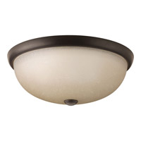 Progress Random 3 Light Flush Mount in Antique Bronze P3602-20WB