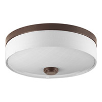 Weaver LED 10 inch Antique Bronze Flush Mount Ceiling Light