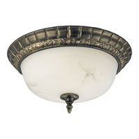 Progress Lighting Palmero 2 Light Close-to-Ceiling in Weathered Bronze P3611-46