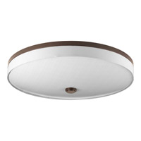 Weaver LED 22 inch Antique Bronze Flush Mount Ceiling Light