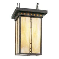 Progress P3613-46 Arts and Crafts 3 Light 10 inch Weathered Bronze Hall & Foyer Ceiling Light alternative photo thumbnail